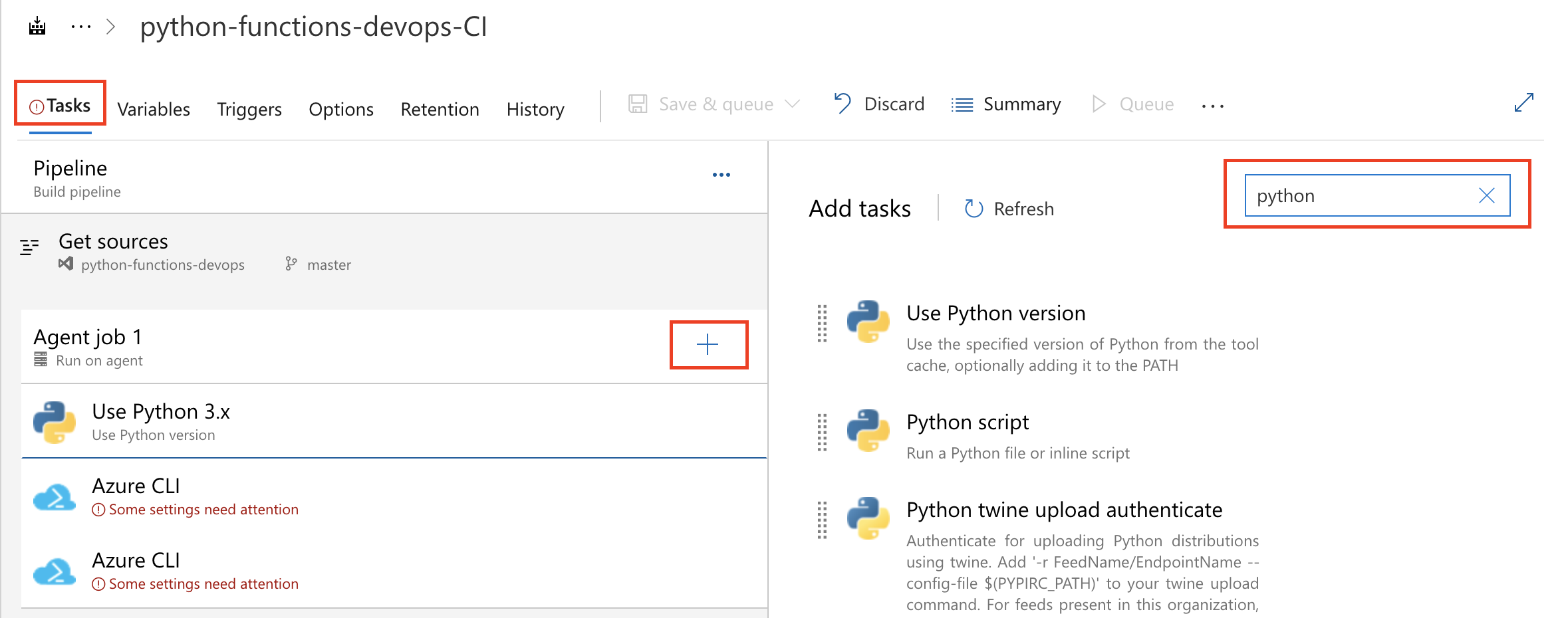 Deploying Azure Functions in Python with Azure DevOps